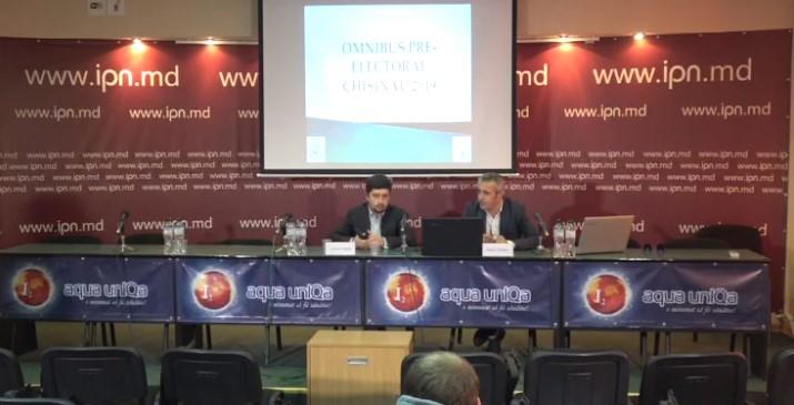 """WatchDog.MD și CBS-AXA au prezentat rezultatele sondajului de opinie """"Omnibus pre-electoral Chișinău 2019"""""""